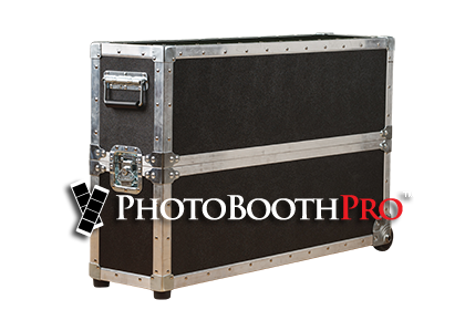 travel road case fr the selfie slim photo kiosk